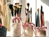 Mason Jar Makeup Brush Holders