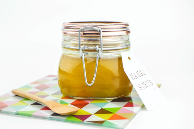 Picture Of diy mango sugar scrub with a delicious smell  4