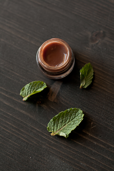 mint chocolate lip gloss (via foodpluswords)