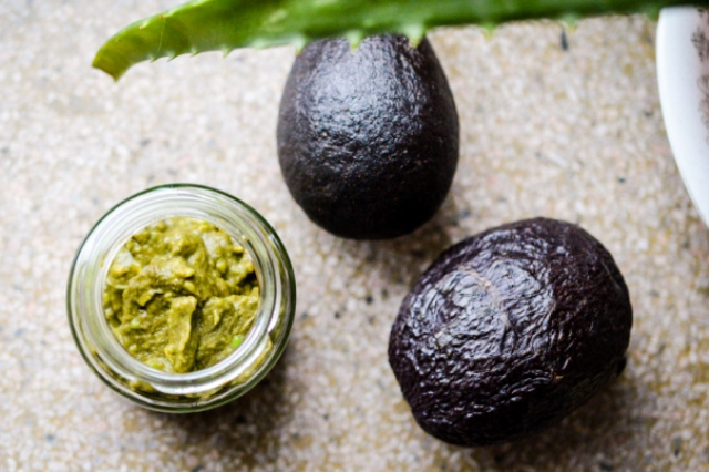 Picture Of diy moisturizing avocado face mask for dry skin  3
