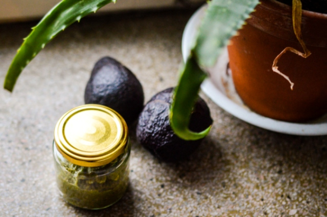 Picture Of diy moisturizing avocado face mask for dry skin  4