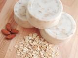 almond honey oatmeal soap