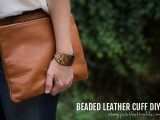 diy-ombre-beaded-leather-cuff-1