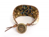 diy-ombre-beaded-leather-cuff-11