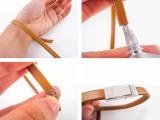 diy-plain-leather-bracelet-with-a-clasp-3
