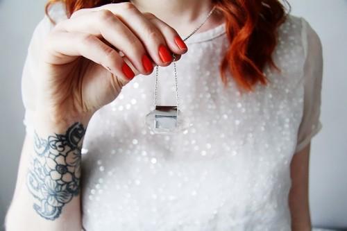 DIY Raw Semi Precious Stone Necklace