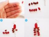 diy-red-waterfall-earrings-to-look-bright-3