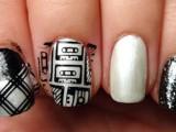 diy-rock-maniac-nail-art-in-black-and-white-3