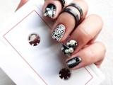 diy-rock-maniac-nail-art-in-black-and-white-5