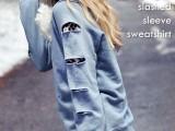 diy-slashed-sleeved-sweatshirt-1