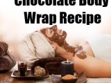 luxury chocolate body wrap