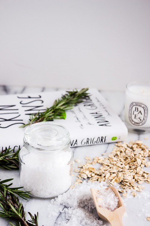 DIY Soothing Bath Soak With Sea Salt