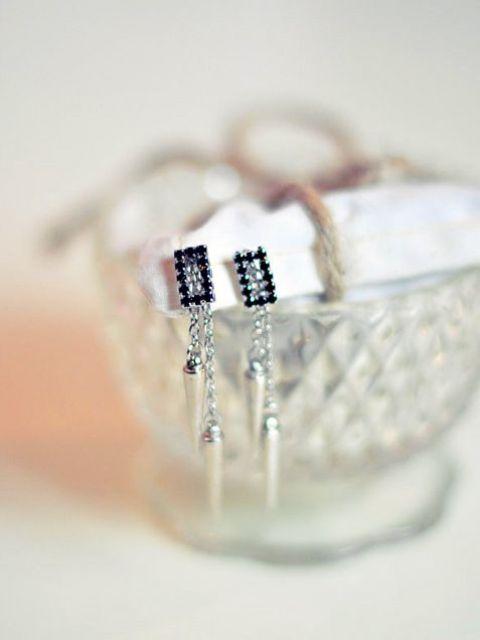 DIY Spike Earrings For Parties
