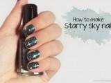 diy-starry-sky-nail-art-1