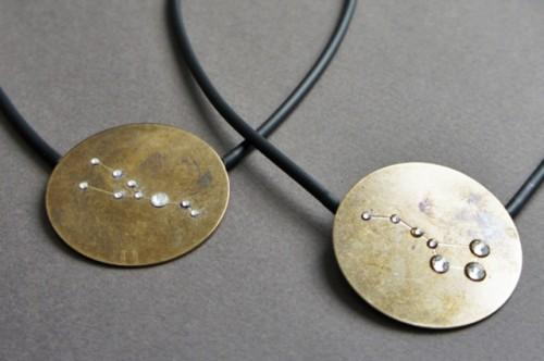 DIY Statement Constellation Necklace To Rock