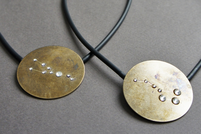 Picture Of diy statement constellation necklace to rock  1
