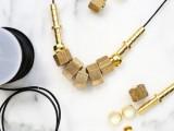 hardware statement necklace