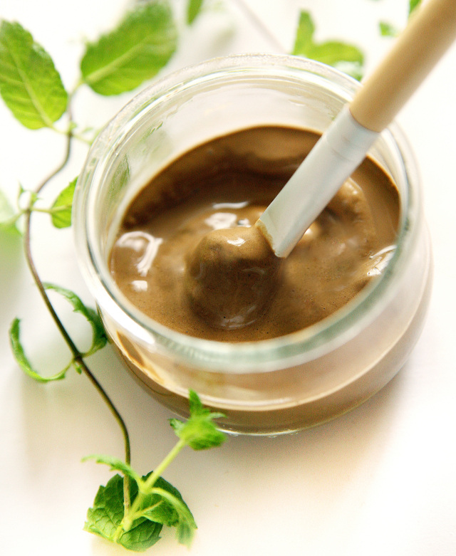 Picture Of diy two ingredients clay mask  1