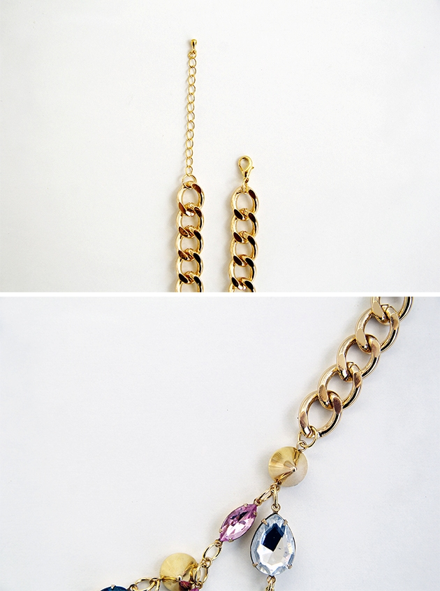 Picture Of diy ultimate statement gemstone necklace  6