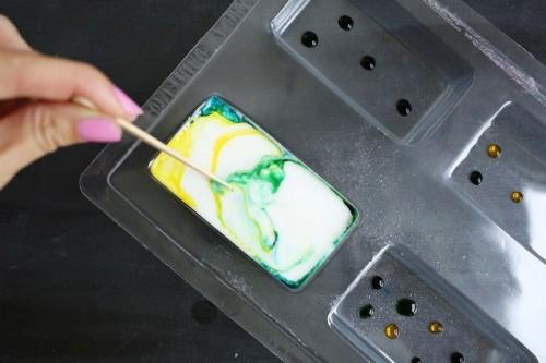 DIY Watercolor Tie Dye Soap To Make