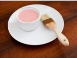 renovating yogurt and strawberry mask
