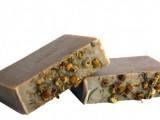 yogurt and herbs soap