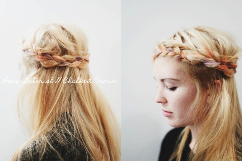 Picture Of easy and cheery diy chalked crown  7