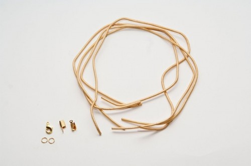 Easy And Cool DIY Knotted Leather Bracelets