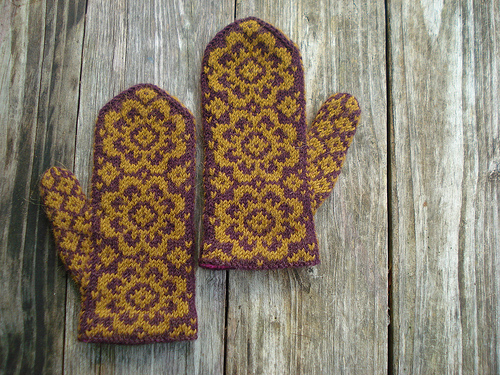 Picture Of end of May mittens