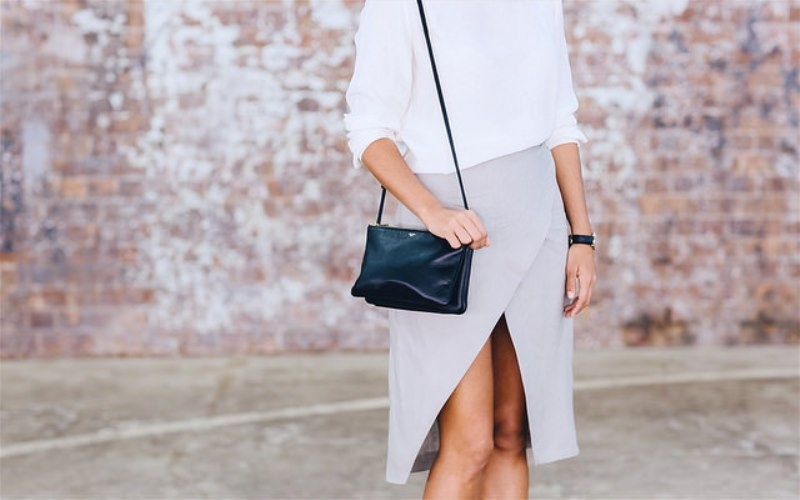 Picture Of easy and stylish diy split wrap skirt  4