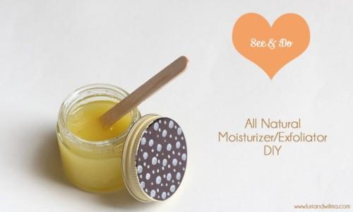 oilve oil moisturizer (via luriandwilma)