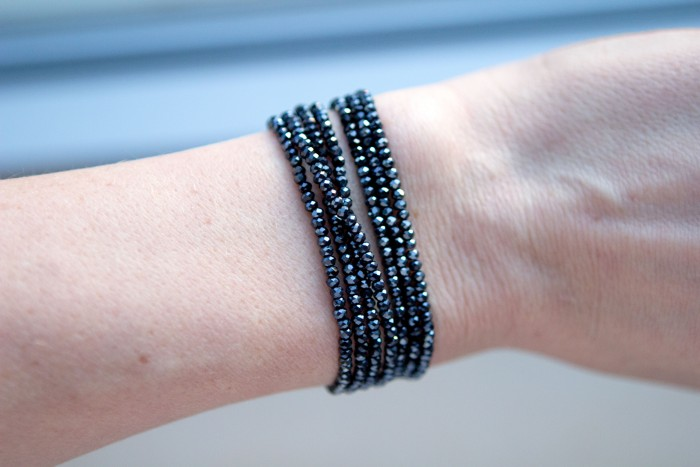 Picture Of easy diy bead bracelet and necklace in one  7