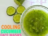 cucumber pore-tightening facial mask