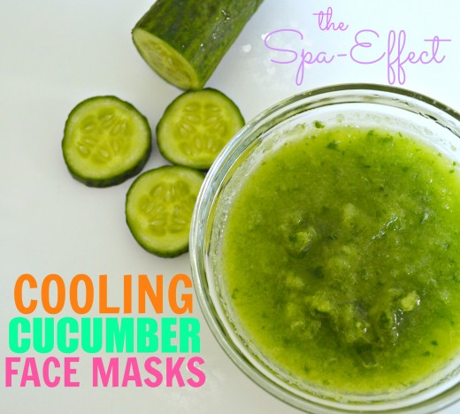 cucumber pore tightening facial mask