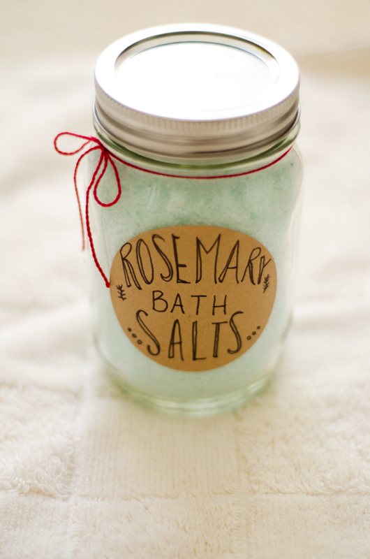 rosemary bath salts