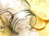 citrus and lavender bath salts