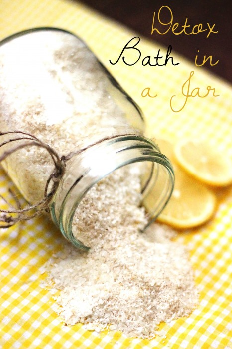citrus and lavender bath salts