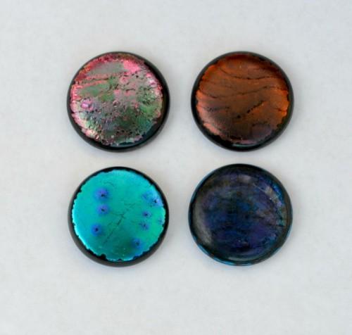 Easy DIY Dichroic Glass Pendant