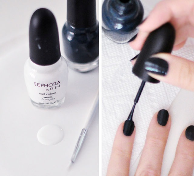Picture Of easy diy feathered nail art  2