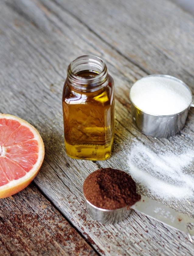 Picture Of easy diy grapefruit cellulite scrub  1