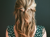 easy-diy-topsy-half-up-hairstyle-for-valentines-day-dinner-1