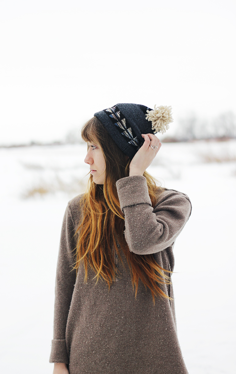 Picture Of easy diy winter hat  1
