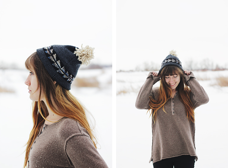 Picture Of easy diy winter hat  3