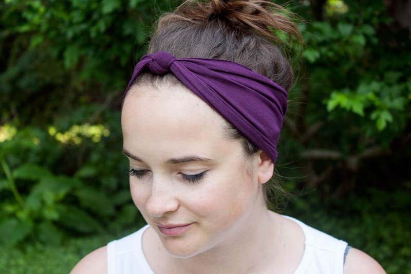 Picture Of easy diy yoga headband to enjoy summer workout  2