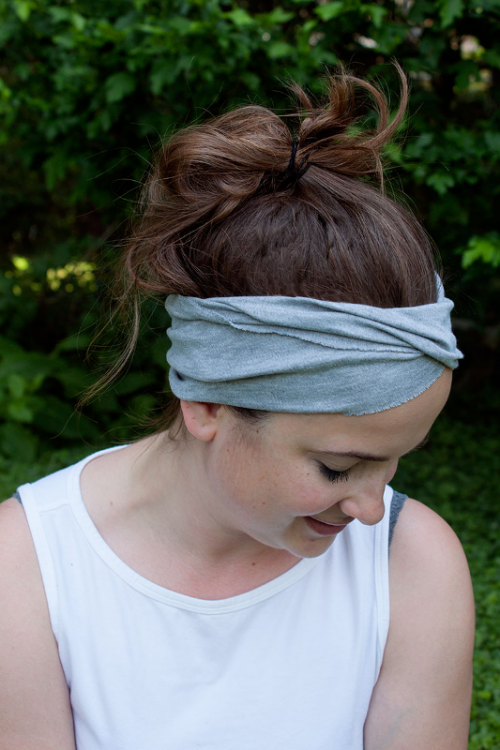 Easy DIY Yoga Headband To Enjoy Summer Workout