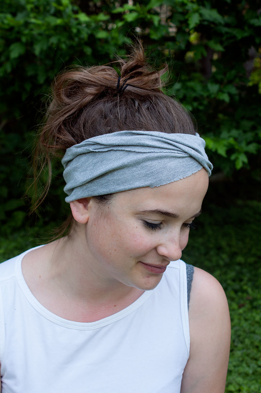 Picture Of easy diy yoga headband to enjoy summer workout  5