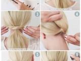 easy-peasy-yet-chic-diy-short-hair-ponytail-2