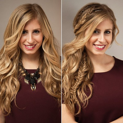 Effortlessly Beautiful And Glam DIY Waves