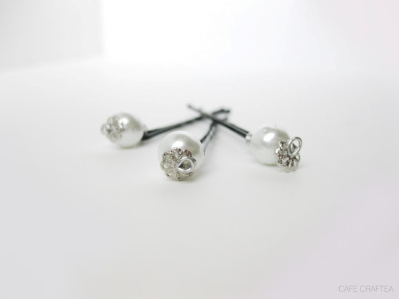 Picture Of elegant and simple diy pearl pins  5