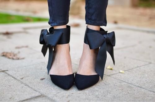 Elegant DIY Bow Heels